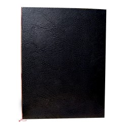 10x Okładki na dyplom - czarna